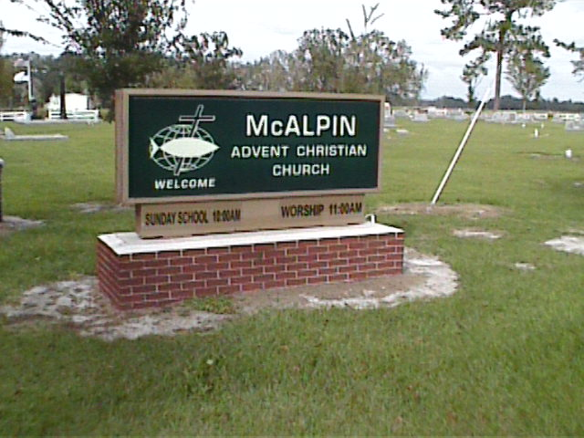 McAlpin Advent Christian Church Cemetery, Suwannee, FL