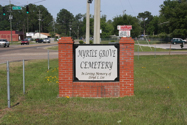Myrtle Grove Methodist Church Cemetery